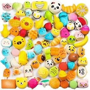 WATINC Random 30pcs Squeeze Toys, Cream Scented Slow Rising Kawaii Squeeze Toys,
