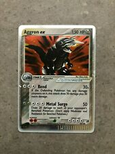 Pokemon TCG Cards Aggron ex 95/100 Sandstorm Ultra Rare Holo NM
