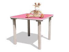 Kindertisch -mit rosa Tischplatte - stabil