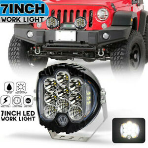 Car 5inch/7inch LED Work Light Pods Spot Flood Combo Driving Fog Lamp Offroad