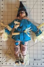 "Hamilton Gifts1987 Wizard of Oz ""Scarecrow"" Doll Figure - pre owned Vg"