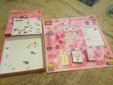 Hello Kitty shopping spree Bookworm edition board game 2007 Sababa toys complete
