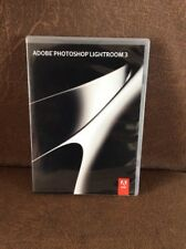 Adobe Photoshop Lightroom 3 - Windows & Mac CD Boxed + Serial Number