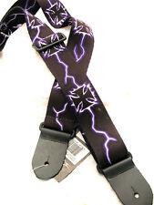 Lightning Crosses Adjustable Guitar Strap Perri's Strap