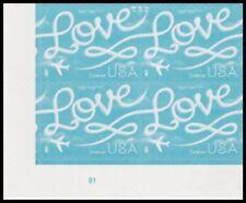 5155 (CF1) Postal Counterfeit Love Skywriting B1 Plate Block 2017 MNH - Buy Now