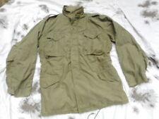 ORIGINAL US Army VIETNAM war ISSUE M65 FIELD COAT COMBAT jacket OG 107 L R large