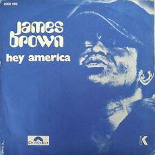 """James Brown - Hey America - Vinyl 7"""" 45T (Single)"""