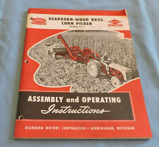 1951 Ford Dearborn-Wood Bros. Corn Picker (Model 16-4) Manual