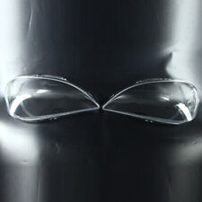 2002-05 For Mercedes-Benz ML W163 Left Right Headlight Headlamp Lens Cover 2pcs