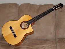 """SURPRISINGLY SPANISH"" ARIA A120 FCWE FLAMENCO CUTAWAY GUITAR IN MINT CONDITION"