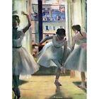 EDGAR DEGAS THREE DANCERS IN A PRACTICE ROOM OLD MASTER ART PAINTING PRINT 12x16