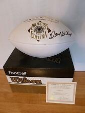 Dave Wilcox 49ers Hand Signed Wilson HOF Football NFL