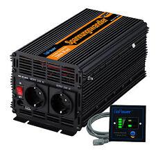 Convertisseur 2000W 4000W DC 12V à AC 220V Onduleur Inverter softstart