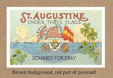 FL ST AUGUSTINE UNDER THREE FLAGS