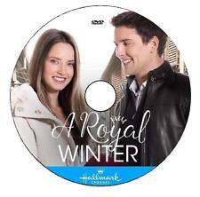 A ROYAL WINTER 2017 DVD HALLMARK MOVIE No Case/Art-DiscOnly