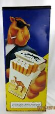 "Camel Joe ""Cool"" Cigarette Ash Tray Can Hard Pack Metal Floor Standing"