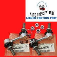 GENUINE SUBARU OUTBACK TRIBECA FORESTER OUTBACK FRONT SWAY BAR LINKS & NUTS KIT