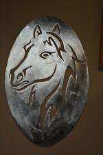 """HORSE"" Custom CNC plasma cut metal sign wall art 18 x 27 made in USA"