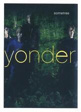 Yonder Sometree - Aufkleber / Sticker  - Promoaufkleber - wie Bild