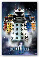SCIENCE FICTION POSTER Doctor Who Daleks