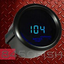 """2"""" Digital Water Temperature Meter Blue LED Display Smoke Lens 104 - 280 F"""