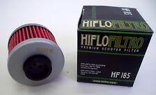 HIFLO FILTRO OLIO HF185 PER PEUGEOT 125 CITYSTAR I.E. 2011 2012