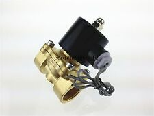 Electric Solenoid Valve Water Air N/C 220V AC 3/4""