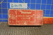 Starrett 210A P Micrometer