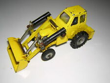 DINKY MUIR HILL LOADER Yellow 1970s Farm Toy