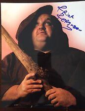 Friar Ferguson (died 2010) signed 8x10 Color wrestling photo WCW WWE WWF