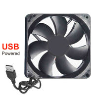 12CM 1200RPM 5V USB COOLING FAN COOLER FOR PC COMPUTER CASE ROUTER SET-TOP BOX
