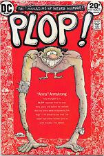 Plop! #1, Dc Comics 1973 Wolverton cover; Wrightson, Aragones, Evans art Vfnm