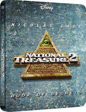 National Treasure 2: Book of Secrets Blu-ray Limited Edition Steelbook UK NEW