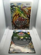 Bakugan: Defenders of the Core -Complete CIB - Nintendo Wii