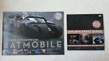 The Dark Knight Manual DVD-Rom & Batmobile History 20 Page Preview (Titan Books)