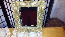 "Kulicke Collection Mirror Anglo Dutch Foliate Repro EC 9"" X 7"""