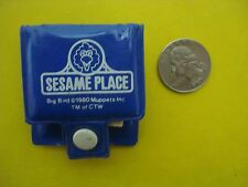 Vtg Best Seat Corp 80s SESAME STREET PLACE Big Bird Muppets MINI NOTEPAD 1980