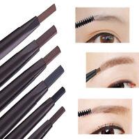 Waterproof Eye Brow Eyeliner Eyebrow Pencil Pen With Brush Makeup Cosmetic Tools