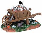 Lemax 54906 SCARY WHEELBARROW Spooky Town Accessories Halloween Decor I