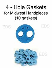 Midwest 4 Hole Handpiece Gasket - Autoclavable USA made Qty 10 gaskets
