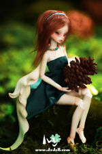 1/12 BJD doll baby cute petite ivy female doll header and body composition