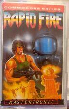 Rapid Fire (Mastertronic, 1987) C 64 Cassette (Tape) (Game, Box, Manual) 100% ok