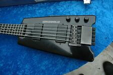 Steinberger XL-2 5 String bass w/ custom flight case w/ 3 sets of strings
