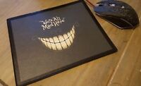 "Cheshire Cat Flexible Mousemat ""We're All Mad Here"" Mouse Mat / Pad PC Computer"