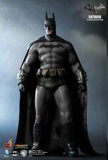 "Sideshow Hot Toys 12"" 1/6 VGM18 DC Comics Batman Arkham City Dark Knight Figure"