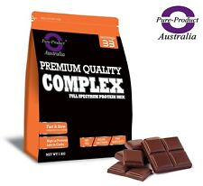 1KG Pure Complete Whey Protein Blend WPI/WPC/Casein Powder - CHOCOLATE