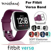 For Fitbit Versa Sport Silicone Replacement Wrist Watch Band Strap Running,Yoga