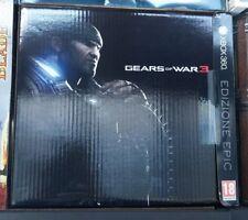 Collector's edition Gears of war 3 edizione epic xbox360