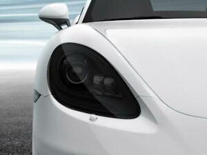 Porsche Cayman Smoked TINT Headlight Blackout Lens Pre Cut Decal Overlay