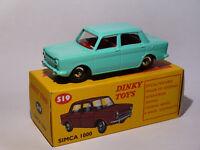 Simca 1000  - réf 519 au 1/43 de dinky toys atlas / DeAgostini